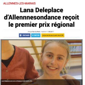 AllennesOnDanse dans la presse.