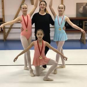 Félicitation à nos 3 danseuses !