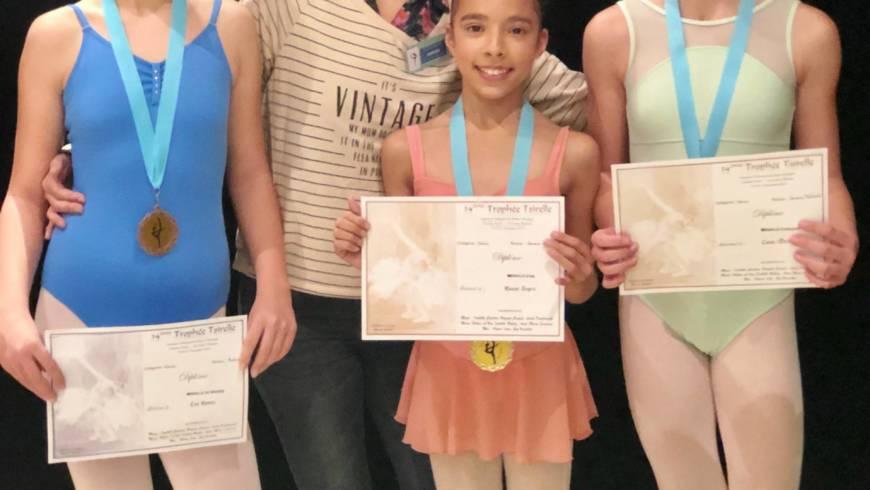 Trophée Tsirelle, Félicitations à nos 3 danseuses !
